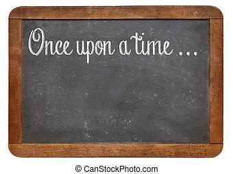 frase, el storytelling, apertura