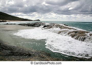 fraser, australie, île, unesco