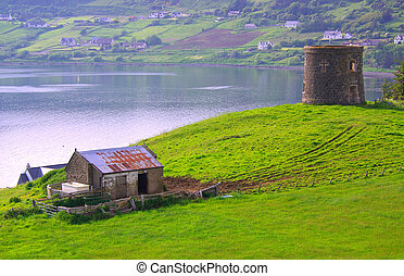 Frasers folly and Uig Bay on the Isle of Skye - Frasers ...