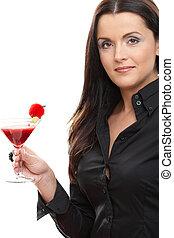 frau besitz, cocktail