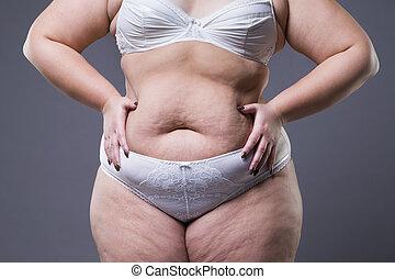 dicker magen