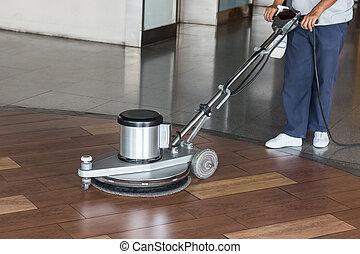 Maschine arbeiter putzen boden laden w sche boden for Boden putzen