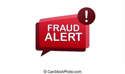 Fraud alert. Security Audit, Virus Scanning, Cleaning, Eliminating Malware Ransomware stock illustration