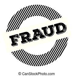 fraud black stamp