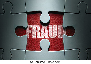 Fraud security concept