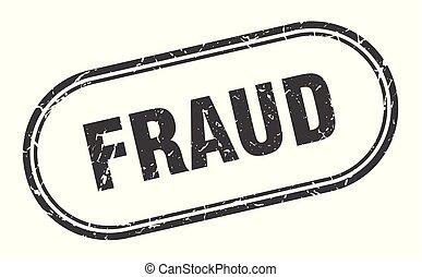 fraud stamp. fraud square grunge sign. fraud