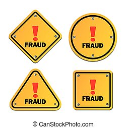 fraud - warning sign