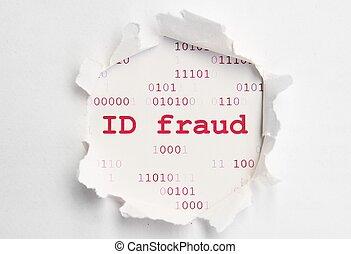 fraude, identificación