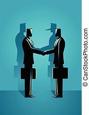 fraude, overeenkomst, concept