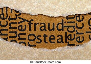 fraude, robar