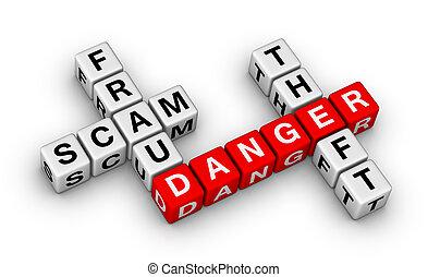 fraude, scam, vol