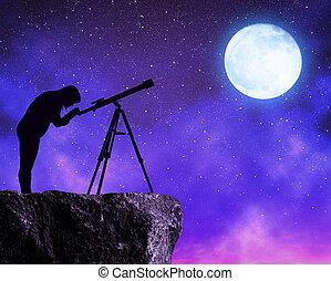 Sterne Anschauen