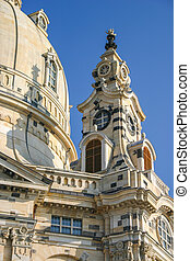 Frauenkirche in Dresden detail
