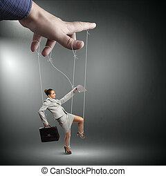 frauenunternehmen, marionette
