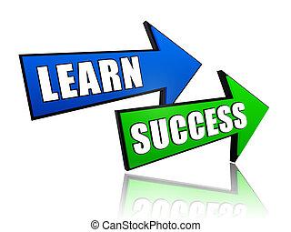 frecce, successo, imparare