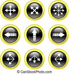 freccia, icone