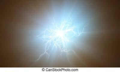 freccia lampo, elettricità, astratto, luce