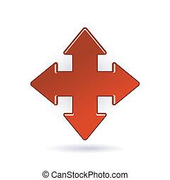 freccia rossa, icona