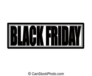 fredag, svart