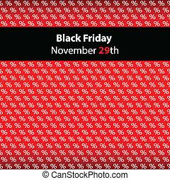 fredag, svart, speciell, bakgrund