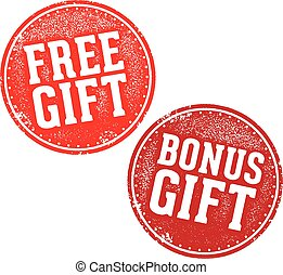 Free and Bonus Gift Stamps
