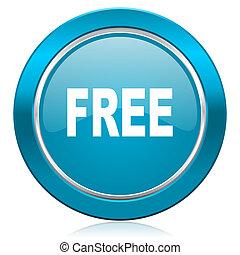 free blue icon