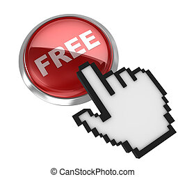 Free button with hand cursor