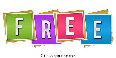 Free Colorful Blocks