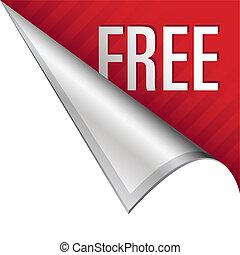 Free corner tab - Free icon on vector peeled corner tab ...