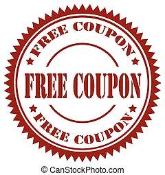 Free Coupon-stamp