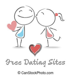 Free Dating Sites Represents Internet Love And Romance