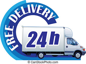 Free delivery 24h