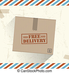 Free delivery box