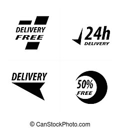free Delivery icon design
