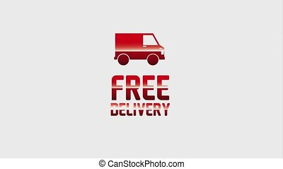 free delivery service - free delivery truck and airplane...