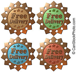 Free Delivery (set of 4)