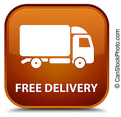 Free delivery special brown square button