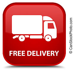Free delivery special red square button