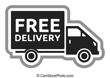 truck free shipping illustrations and clip art 5 924 truck free rh canstockphoto ie free shipping clipart Free Shipping Graphic