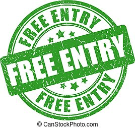 Free entry vector stamp