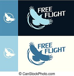 Free Flight - Round Logo
