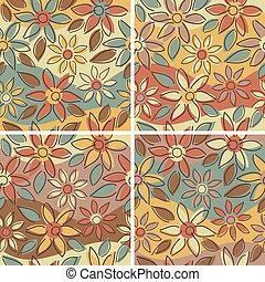 Free-Form Floral Autumn