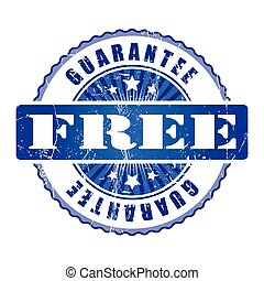 Free  Guarantee Stamp.