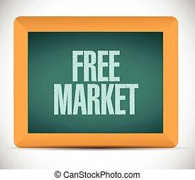 free market illustration design