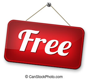 free of charge - free trial no charge gratis product sample