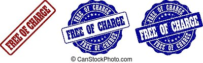 FREE OF CHARGE Grunge Stamp Seals