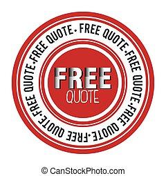 free quote design
