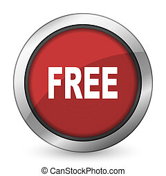 free red icon