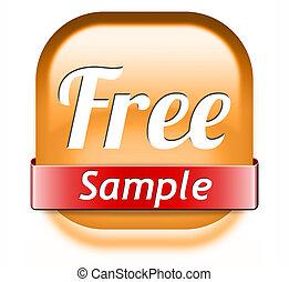 free sample - Free product sample offer or gratis download...