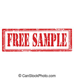free sample stamp grunge rubber stamp with text free